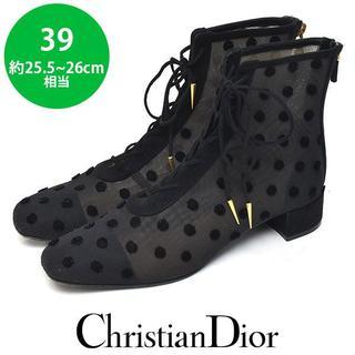 Christian Dior - 美品❤クリスチャンディオール ショートブーツ 39(約25.5-26cm)