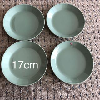 イッタラ(iittala)のイッタラ  ティーマ グリーン 17cm 4枚セット(食器)