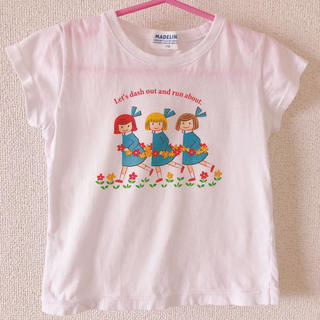 ファミリア(familiar)のマドレーヌちゃんTシャツ110cm(Tシャツ/カットソー)