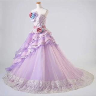 カラードレス ウェディングドレス 新品未使用 9号 クラウディア(ウェディングドレス)