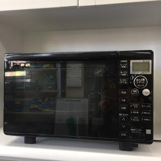 ヒタチ(日立)の【日立】オーブンレンジ 18L MRO-T5E3  2017年製 2B-029(電子レンジ)