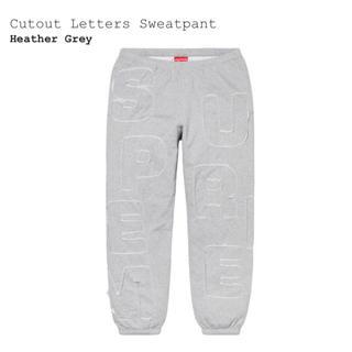 Supreme - 20SS Supreme Cutout Letters Sweatpant