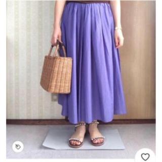 スピックアンドスパン(Spick and Span)のスピック&スパン ドリーシーンコラボ 日本製スカート(ロングスカート)