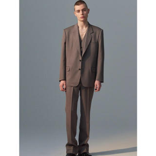JOHN LAWRENCE SULLIVAN - 19aw Twill Single Breasted Jacket