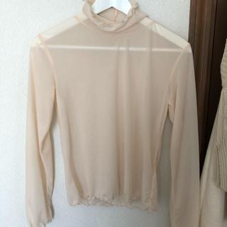 ジーユー(GU)のシアーインナーT (Tシャツ(半袖/袖なし))