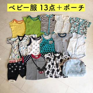 西松屋 - 14点セット ベビー服 ロンパース まとめ売り
