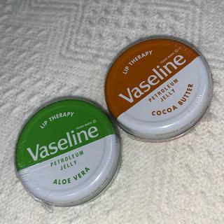 Vaseline -  VASELINE リップセラピー  アロエ  ココア 二個セット