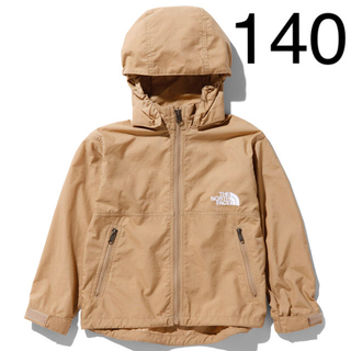 THE NORTH FACE - ノースフェイス コンパクトジャケット キッズ 140 ケルプタン
