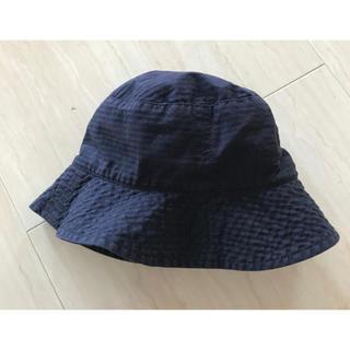 プチバトー(PETIT BATEAU)のPETITBATEAUベビーハット帽(その他)