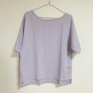 ローリーズファーム(LOWRYS FARM)の【LOWRYSFARM】ワンショルTシャツ(Tシャツ(半袖/袖なし))