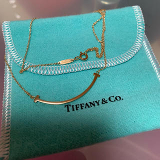 Tiffany & Co. - ティファニー ネックレス スマイル ゴールド