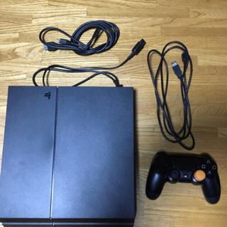 PlayStation4 - PS4 本体 箱付き  カセット付き