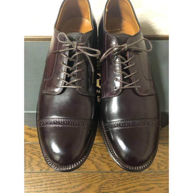 Alden(オールデン)の新品未使用 ALDEN オールデン 43518 レイドン コードバン  メンズの靴/シューズ(ドレス/ビジネス)の商品写真