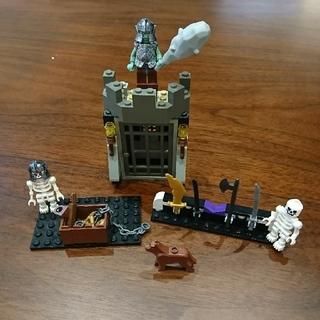 Lego - レゴ 敵のアジト ミニフィグ 骸骨