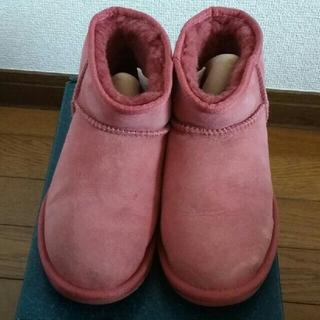 EMU - emu EMU ムートンブーツ 箱付き❗ ピンク W8