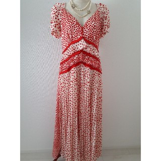 セルフポートレイト(SELF PORTRAIT)の本物 セルフポートレート UK10 US6 11号 ワンピース ドレス(ロングワンピース/マキシワンピース)