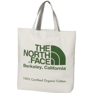 THE NORTH FACE - 19年モデル 新品 未使用 ノースフェイス オーガニックコットン トート  緑