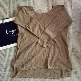 Ungrid - Ungrid 薄手ニット