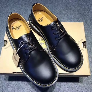 Dr.Martens - UK8ドクターマーチン 3ホール 革靴 新品未使用