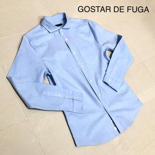 フーガ(FUGA)のGOSTAR DE FUGA ストレッチ オックスシャツ SAX 長袖(シャツ)