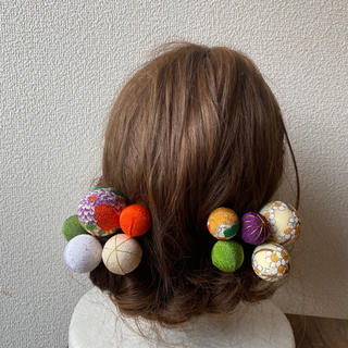 玉飾りの髪飾り【A11】(和装小物)