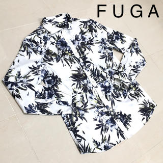 フーガ(FUGA)のFUGA フーガ 花柄 シャツ 長袖 総柄(シャツ)