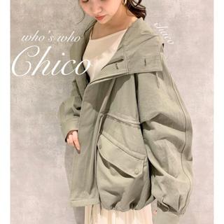 who's who Chico - 僅か⚠️春アウター🍪¥9612【Chico】モッズコート マウンテンコート