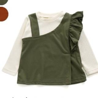 アシメドッキングTシャツ 130cm