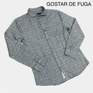 FUGA -  GOSTAR DE FUGA ゴスタールジフーガ  千鳥柄シャツ 長袖