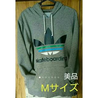 adidas - adidas アディダス パーカー M メンズ 濃いグレー