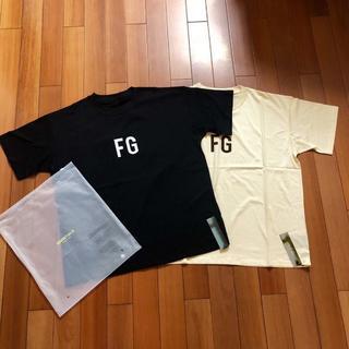 FEAR OF GOD - サイズXL黒ベージュ2枚セット FEAR OF GOD Tシャツ