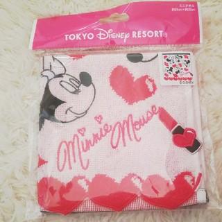 Disney - ミニーちゃん ミニタオル