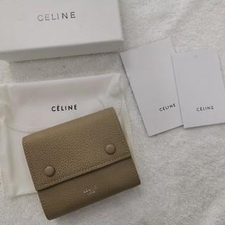 celine - 美品 Celine セリーヌ 折り財布 レザー