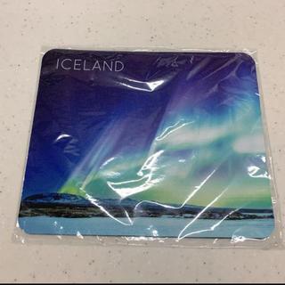 オーロラ マウスパッド アイスランド(PC周辺機器)