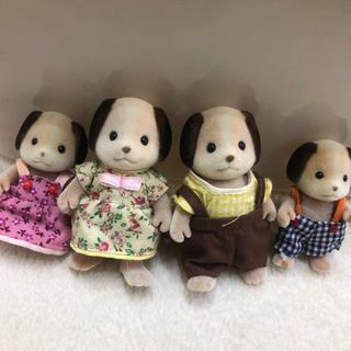 シルバニアファミリー 人形セット ワンちゃんファミリー