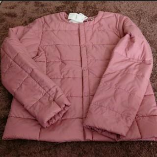 UNIQLO - ユニクロ ライトウォームパデット  コンパクトジャケット 140サイズ ピンク