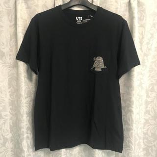 UNIQLO - メンズ!新品!ユニクロ*スターウォーズ*胸ポケット付UネックTシャツ*Mサイズ