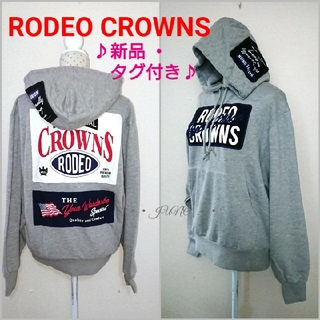 RODEO CROWNS - グレータグパーカー♡RODEO CROWNS ロデオクラウンズ  新品 タグ付き