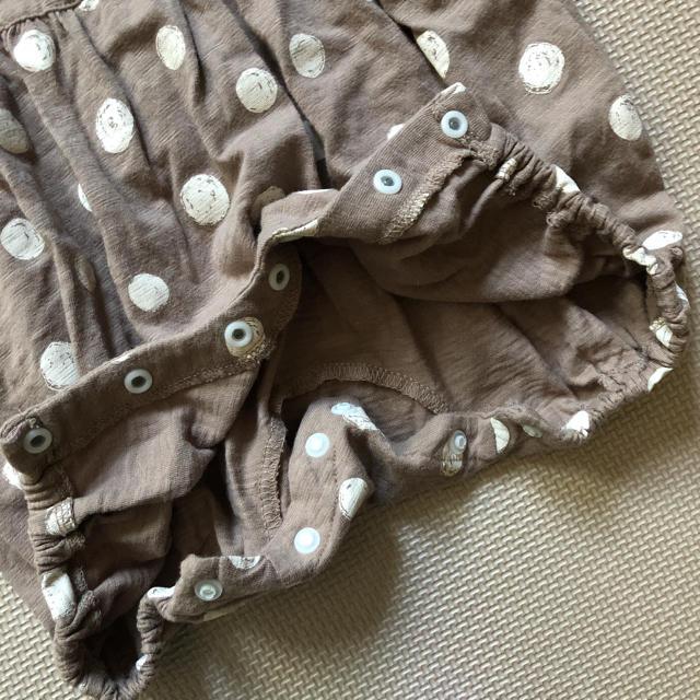 しまむら(シマムラ)のテータテート  ロンパース キッズ/ベビー/マタニティのベビー服(~85cm)(ロンパース)の商品写真