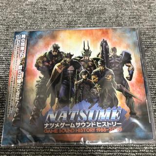 ナツメゲームサウンドヒストリー CD  新品未開封  入手困難な激レア品