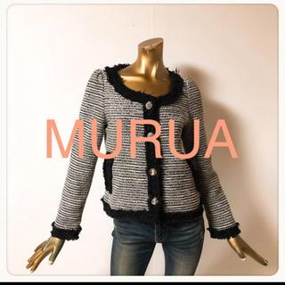 MURUA - ☘T3178☘MURUA ツイードジャケット 1