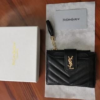 Yves Saint Laurent Beaute - お勧め YSL 折り財布 美品 レディース ブラック
