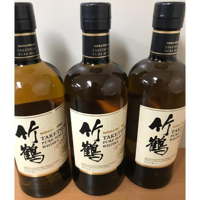 アサヒ(アサヒ)の竹鶴 ピュアモルト 食品/飲料/酒の酒(ウイスキー)の商品写真