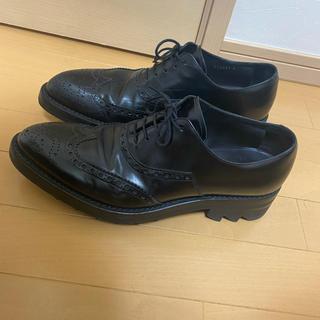 PRADA - 本日特価)PRADA シャークソール 13AW 革靴