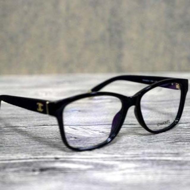 CHANEL(シャネル)のyocco様 CHANEL 3324 メガネ サングラス マトラッセ ブラック レディースのファッション小物(サングラス/メガネ)の商品写真