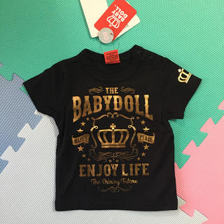 BABYDOLL - 新品未使用 タグ付き ベビードール Tシャツ ロンT 80cm