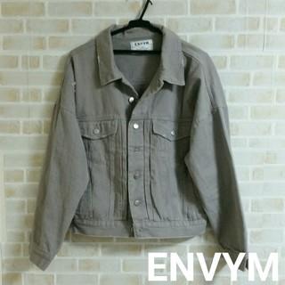 ENVYM - 【本日削除/最終値下げ】ENVYM  ダメージ オーバーサイズ Gジャン