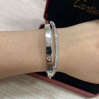 Cartier - カルティエCartier ブレスレット 17CM 美品♥レディース エレガント