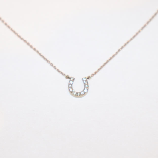 4℃ - 【華奢✨】ホースシュー K10 ダイヤモンド