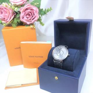ルイヴィトン(LOUIS VUITTON)の美品☆ ルイヴィトン タンブールスリム エクリプス 18年購入(腕時計(アナログ))